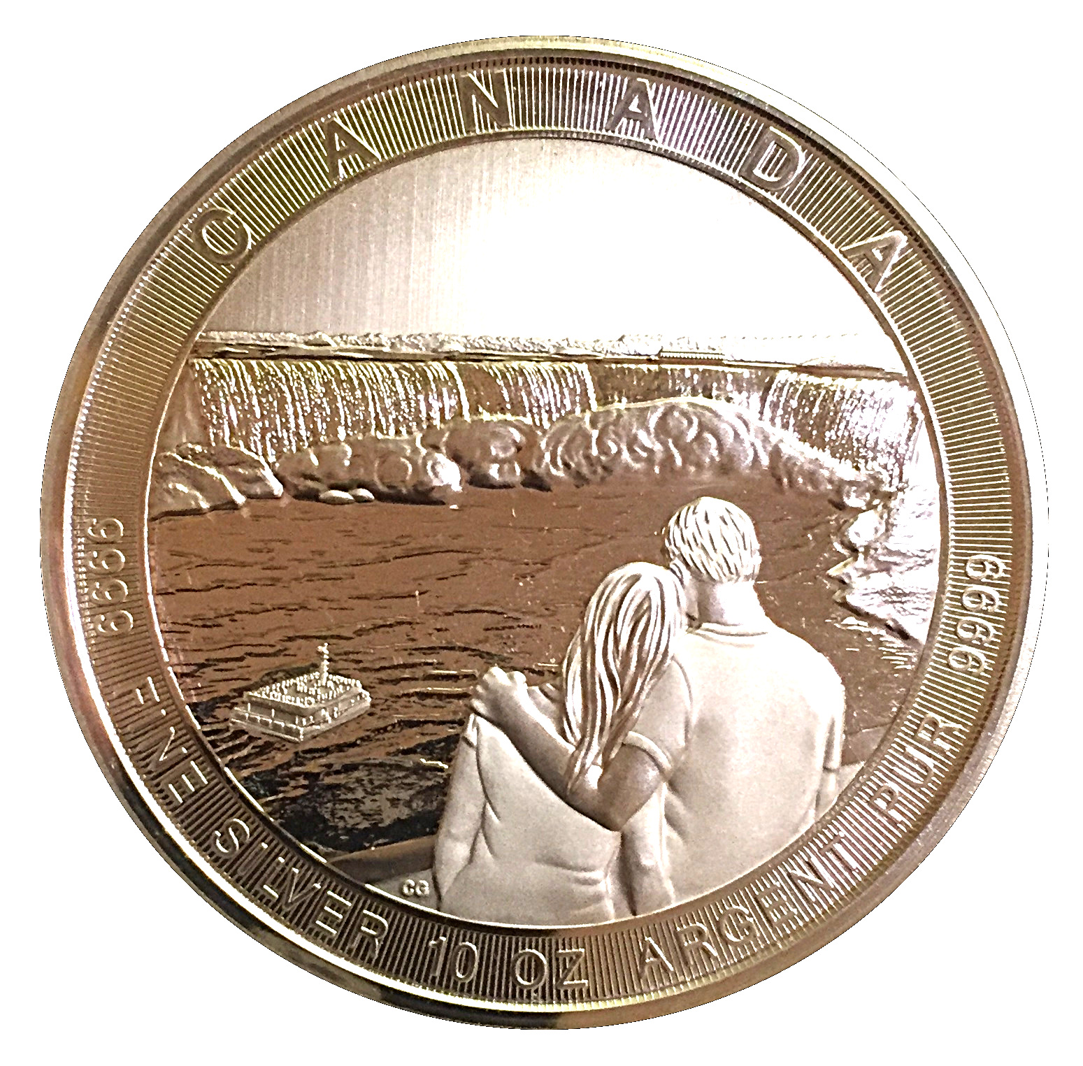 1993-PL Proof-Like Loonie $1 One Dollar /'93 Canada//Canadian Coin Un-Circulated