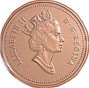 1 Cent - Elizabeth II (Confederation) – obverse