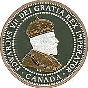 1 Cent - Elizabeth II (Small leaves design - 1908) – obverse