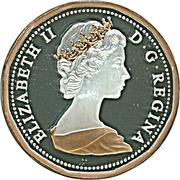 1 Cent - Elizabeth II (Maple twig design - 1982) – obverse