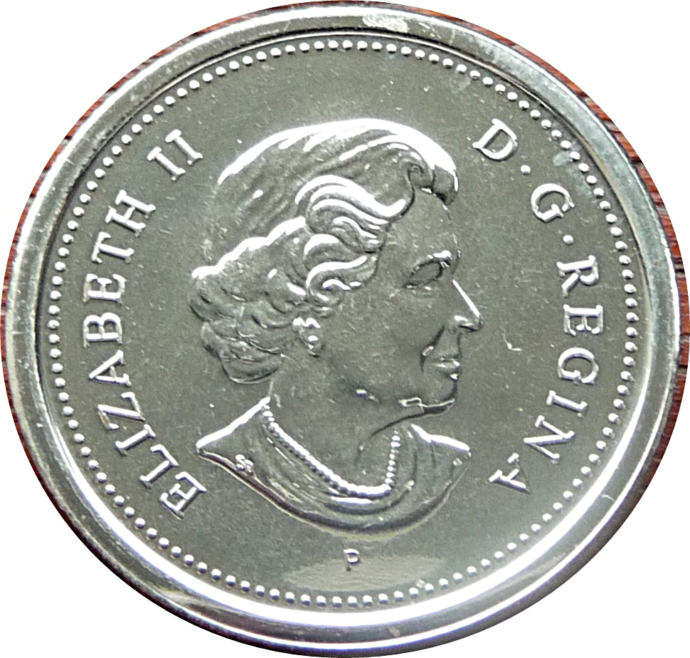 2004 Canada 10 Cents Test Token