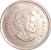 25 Cents - Elizabeth II (Year of the Veteran) -  obverse