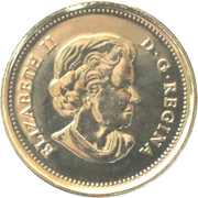 25 Cents - Elizabeth II (Life in the North) -  obverse