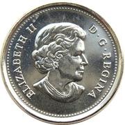 25 Cents - Elizabeth II (Canadian Arctic Expedition) -  obverse