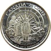 25 Cents - Elizabeth II (Canadian Arctic Expedition) -  reverse