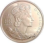50 Cents - Elizabeth II (Golden Jubilee) -  obverse