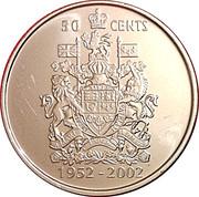 50 Cents - Elizabeth II (Golden Jubilee) -  reverse