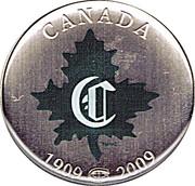 50 Cents - Elizabeth II (Montreal Canadiens) -  reverse