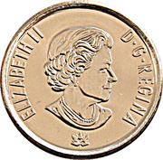 25 Cents - Elizabeth II (Hope for a Green Future) -  obverse