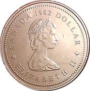 1 Dollar - Elizabeth II (Constitution) -  obverse