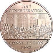 1 Dollar - Elizabeth II (Constitution) -  reverse