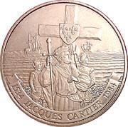 1 Dollar - Elizabeth II (Jacques Cartier) – reverse