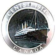 50 Cents - Elizabeth II (Empress of Ireland) -  reverse