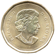 1 Dollar - Elizabeth II (Royal Canadian Navy) -  obverse