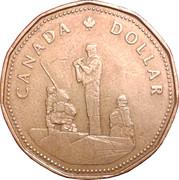 1 Dollar - Elizabeth II (Peacekeeping) -  reverse