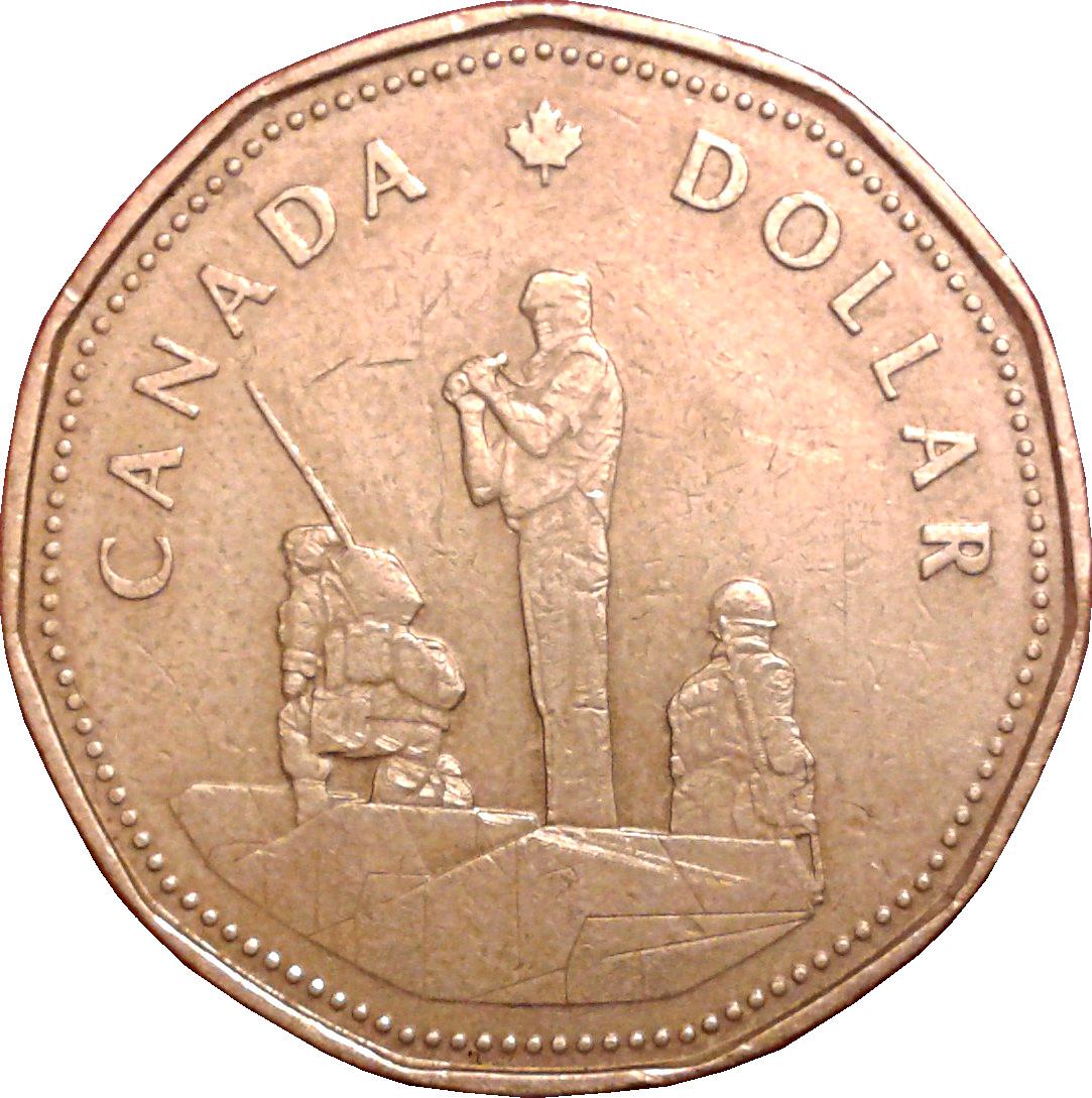 1995 Canada Loonie BU