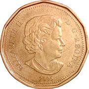 1 Dollar - Elizabeth II (Terry Fox) -  obverse