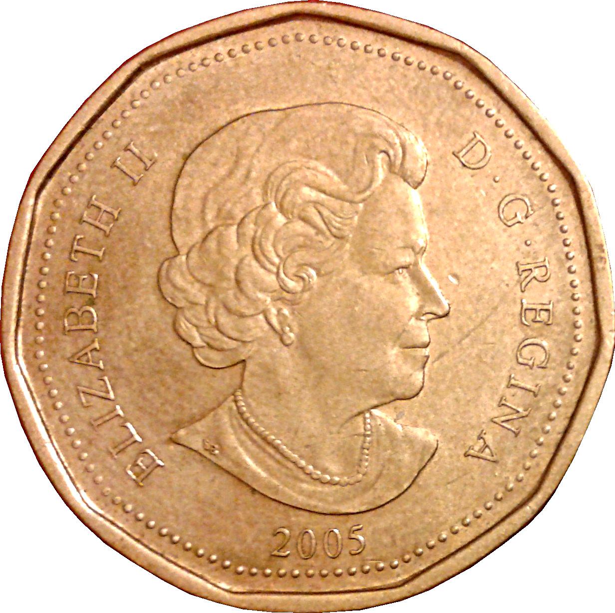 1 Dollar Elizabeth Ii Terry Fox