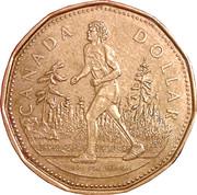 1 Dollar - Elizabeth II (Terry Fox) -  reverse
