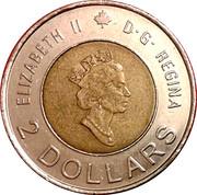 2 Dollars - Elizabeth II (Knowledge) -  obverse