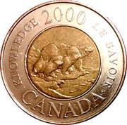 2 Dollars - Elizabeth II (Knowledge) -  reverse