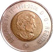 2 Dollars - Elizabeth II (10th anniversary Toonie) -  obverse