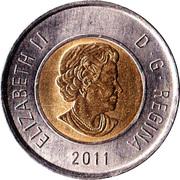 2 Dollars - Elizabeth II (Boreal Forest) -  obverse
