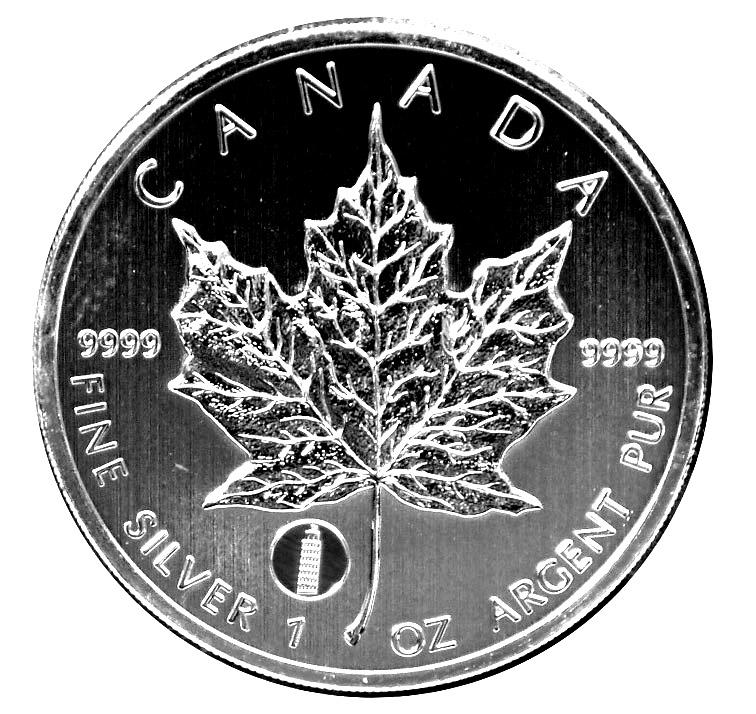 5 Dollars Elizabeth Ii Leaning Tower Of Pisa Silver