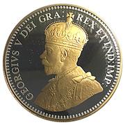 10 Cents - Elizabeth II (George V; 1936 Dot) – obverse