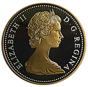 10 Cents - Elizabeth II (1967 Centennial) – obverse