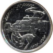 50 Cents - Elizabeth II (Grand Prix F1 Auto Racing) – reverse