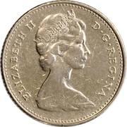 10 Cents - Elizabeth II (2nd portrait; Ottawa mint) -  obverse