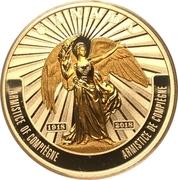 20 Dollars - Elizabeth II (George V - Armistice of  Compiègne) – reverse