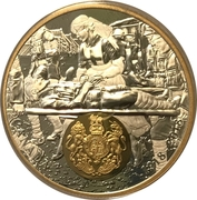 20 Dollars - Elizabeth II (George V - WWI - Great Britain) – reverse