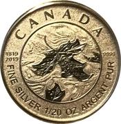1 Dollar - Elizabeth II (Queen Victoria 200th Anniversary) – reverse
