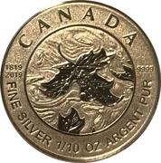 2 Dollars - Elizabeth II (Queen Victoria 200th Anniversary) – reverse