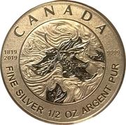 4 Dollars - Elizabeth II (Queen Victoria 200th Anniversary) – reverse