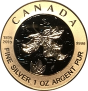 5 Dollars - Elizabeth II (Queen Victoria 200th Anniversary) – reverse
