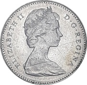 10 Cents - Elizabeth II (Confederation- 80%) -  obverse