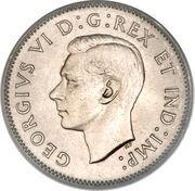 5 Cents - George VI (round) -  obverse