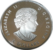 3 Dollars - Elizabeth II (Celebration of Love) – obverse