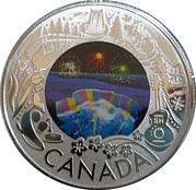 3 Dollars - Elizabeth II (Niagara Falls Winter Lights) – reverse