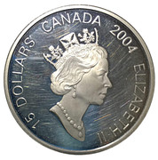 15 Dollars - Elizabeth II (Year of the Monkey) – obverse