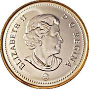 1 Dollar - Elizabeth II (Montreal Canadiens Centennial) -  obverse