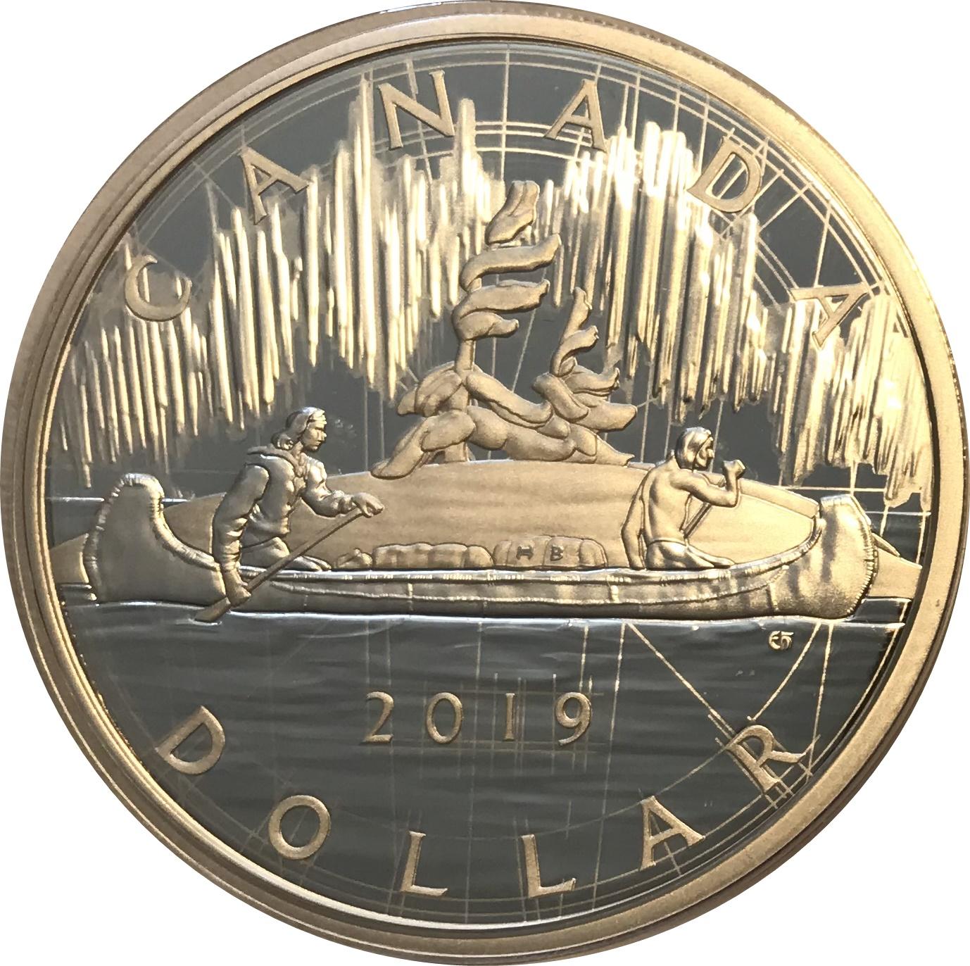 1 Dollar Elizabeth Ii George Vi 1935 Voyageur Dollar