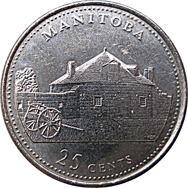 1992-25-cents RCM Uncirculated Saskatchewan