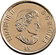 10 Cents - Elizabeth II (Wings of Peace) -  obverse