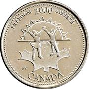25 Cents - Elizabeth II (Freedom) – reverse