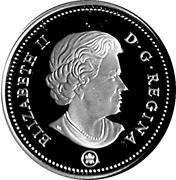 50 Cents - Elizabeth II (Canada 150 Logo) -  obverse