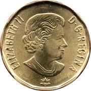 1 Dollar - Elizabeth II (Connecting A Nation) -  obverse